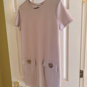 Zara Morocco Small Dress light cream tan colored
